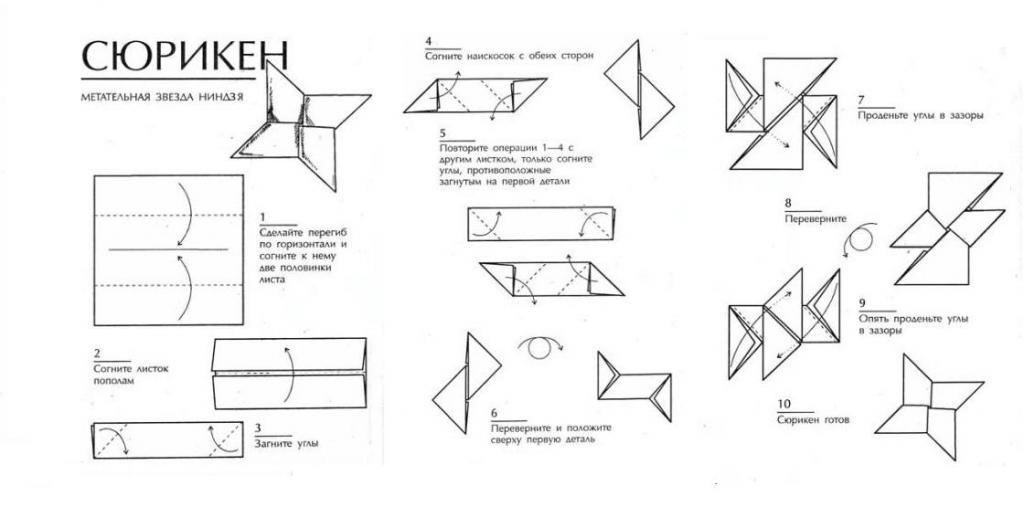 Видео: как сделать сюрикен из бумаги.  Гипсокартонные работы-Обучение .  Наружные откосы окон Своими руками - Как...